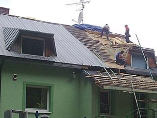 Fachowa naprawa dachów